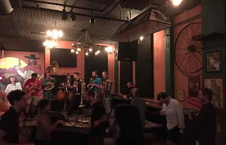 The Fall Creek Brass Band killed it last night at our Thursday Night Open Funk Jam! They'll be back to do it all again in 2 weeks!