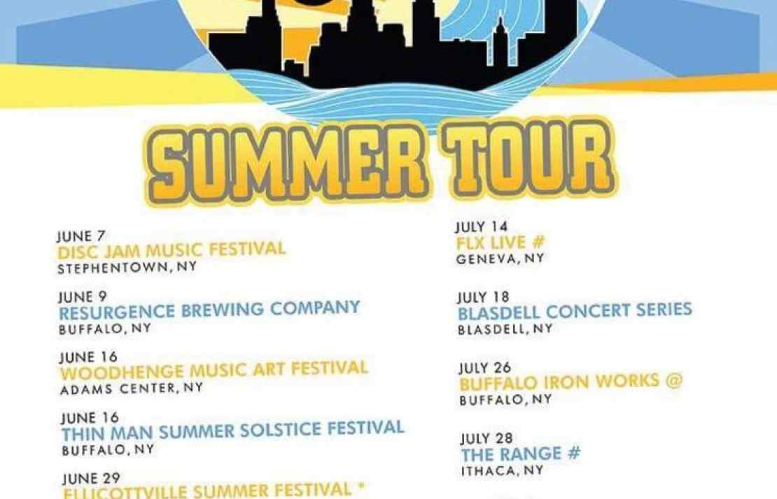 funktional functional flow funk band music live free summer concert series cfcu ithaca downtown range